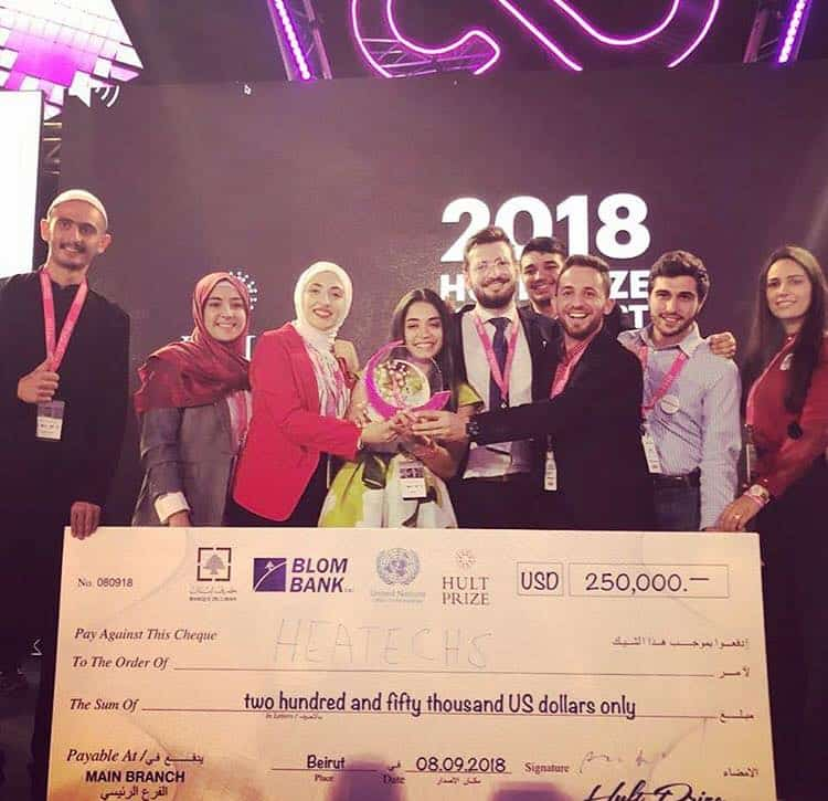 heatechs-win Student Group Wins $250K to Build Heated Mattresses for Refugees
