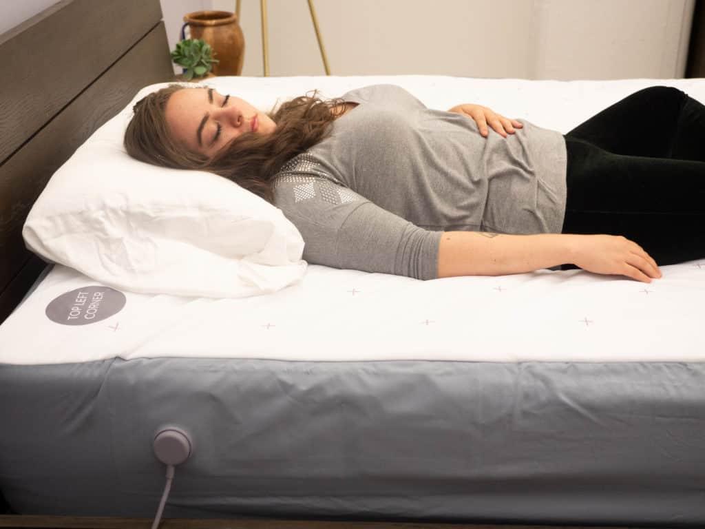 Eight Sleep Tracker Sarah Lay