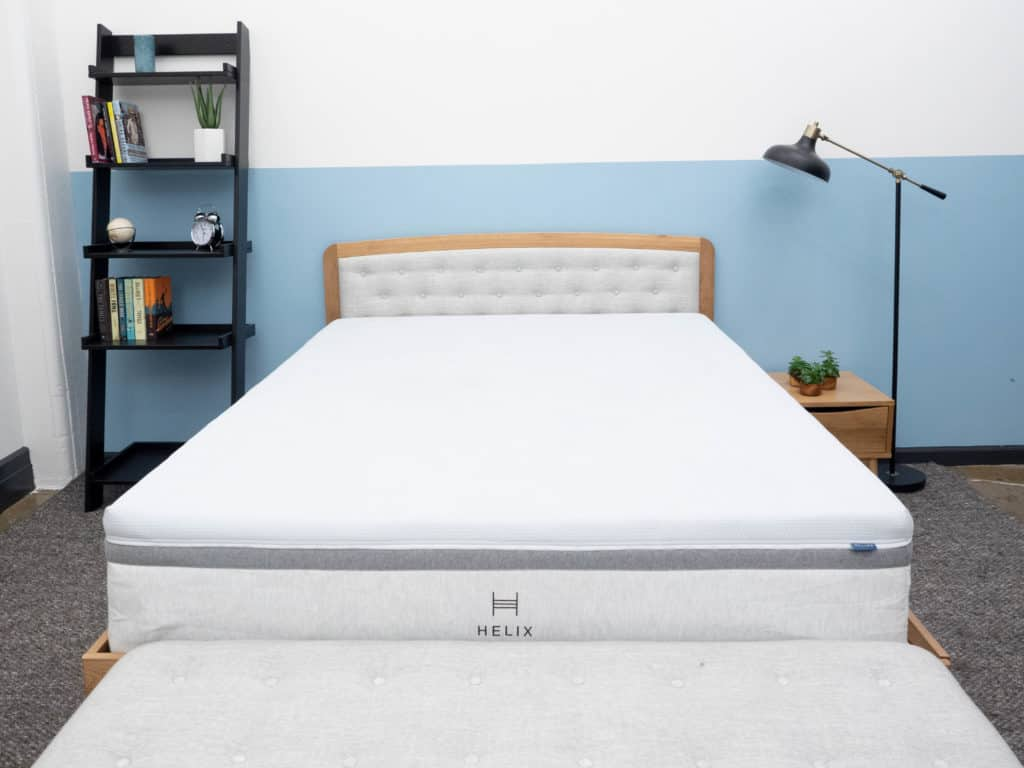 Helix Plus Mattress in bedroom