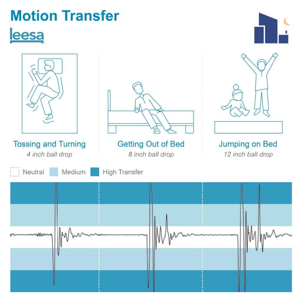 Leesa 2 Motion Transfer