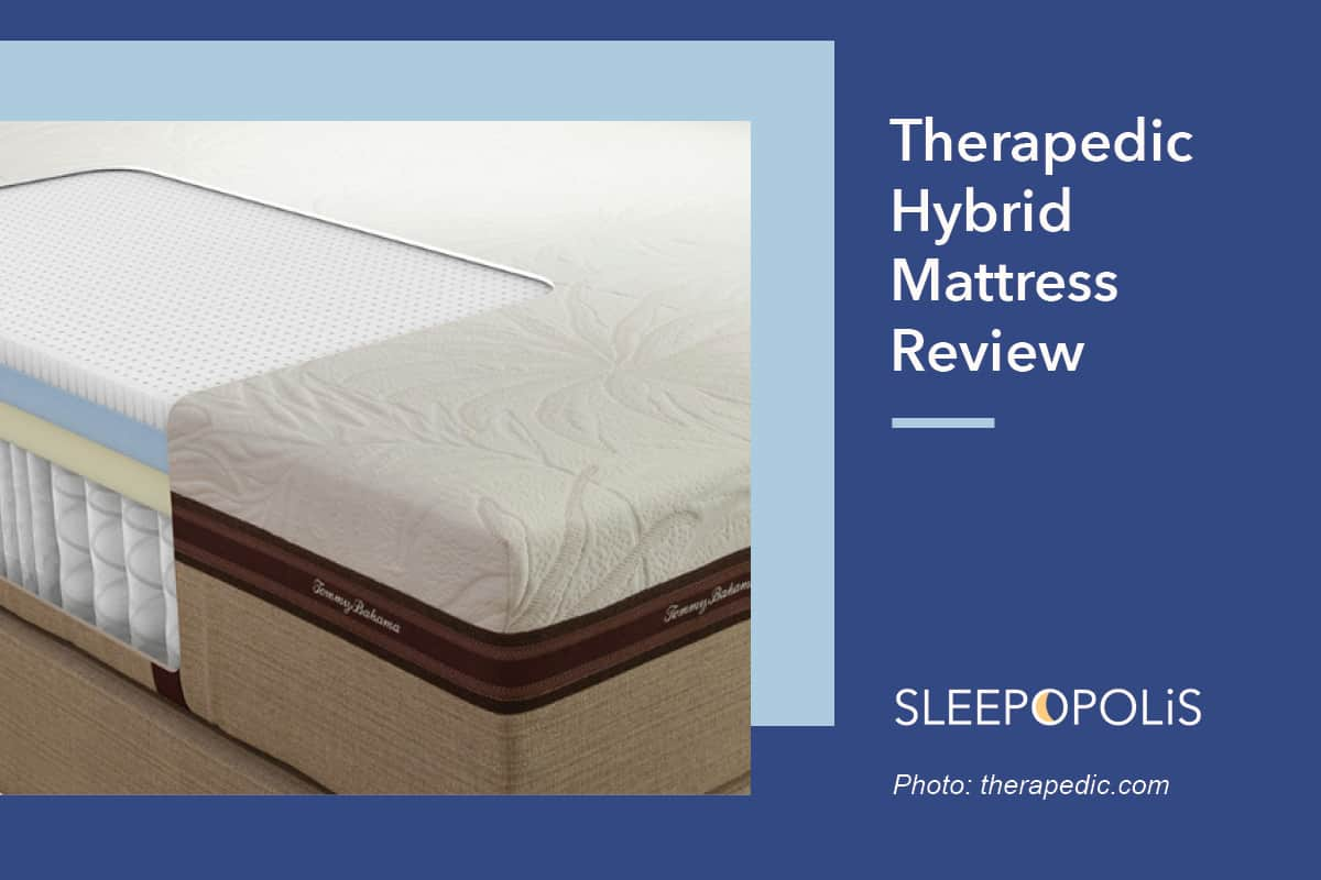 therapedic hybrid mattress review sleepopolis. Black Bedroom Furniture Sets. Home Design Ideas
