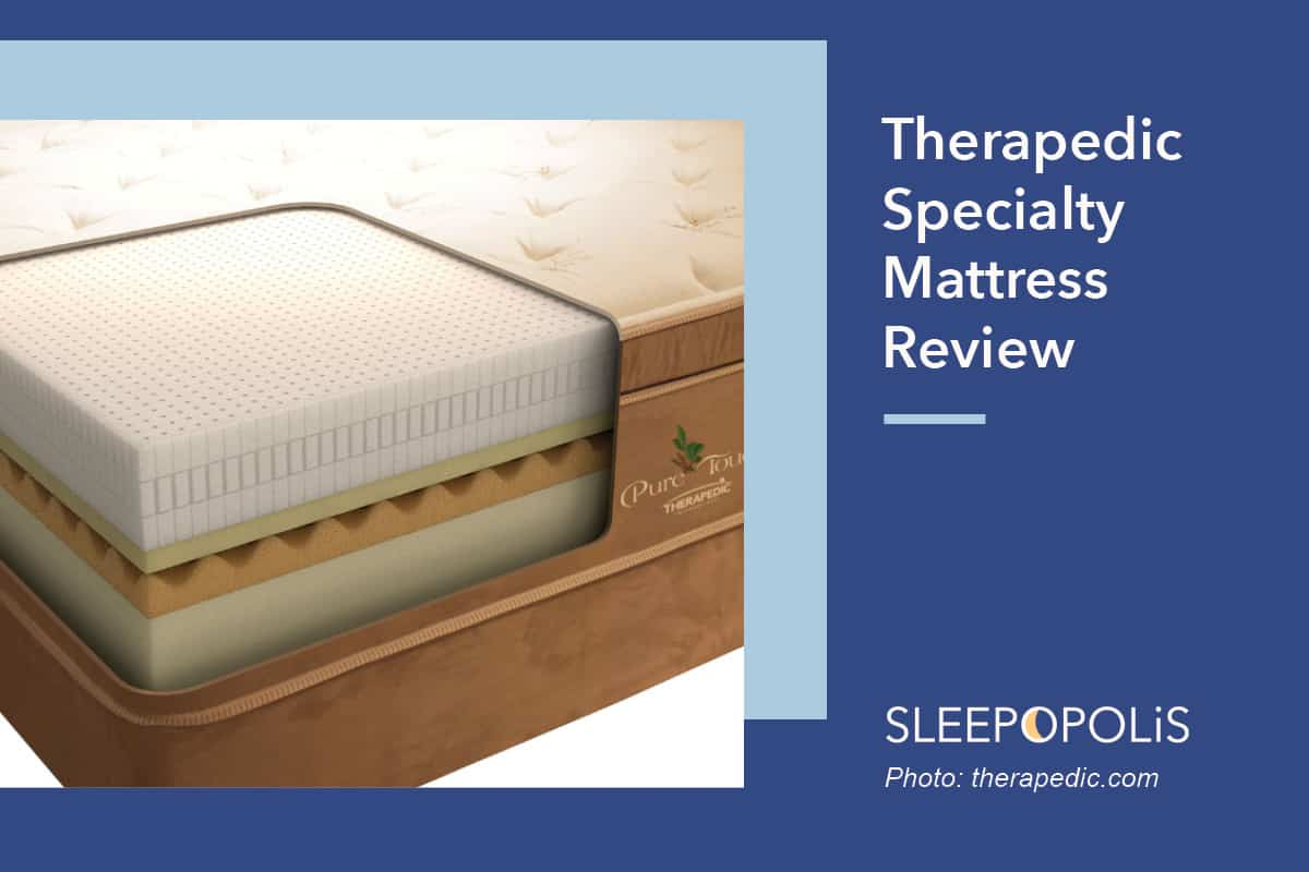therapedic speciality mattress collection review sleepopolis. Black Bedroom Furniture Sets. Home Design Ideas