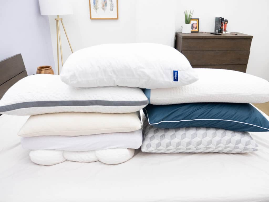 Side Sleeper Pillow Stack