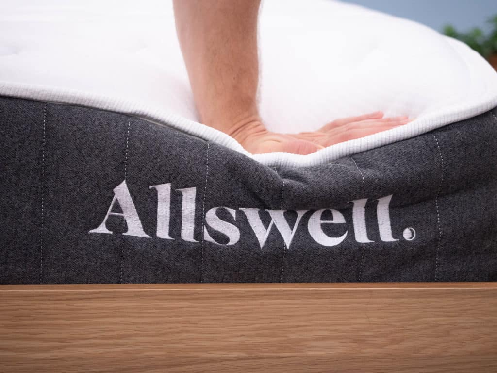 Allswell mattress test