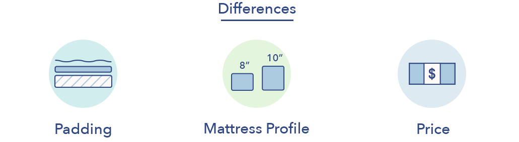 Sleep Number c2 c4 differences