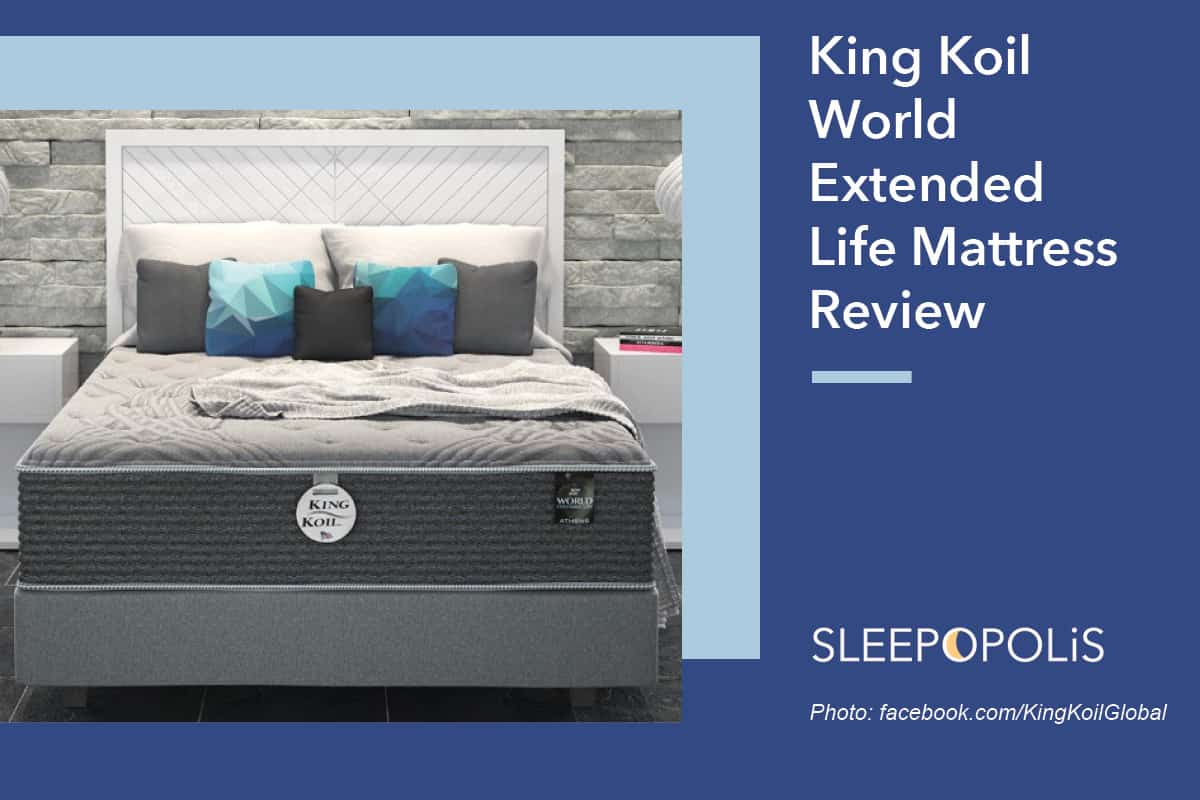 King Koil World Extended Life Collection Review Sleepopolis