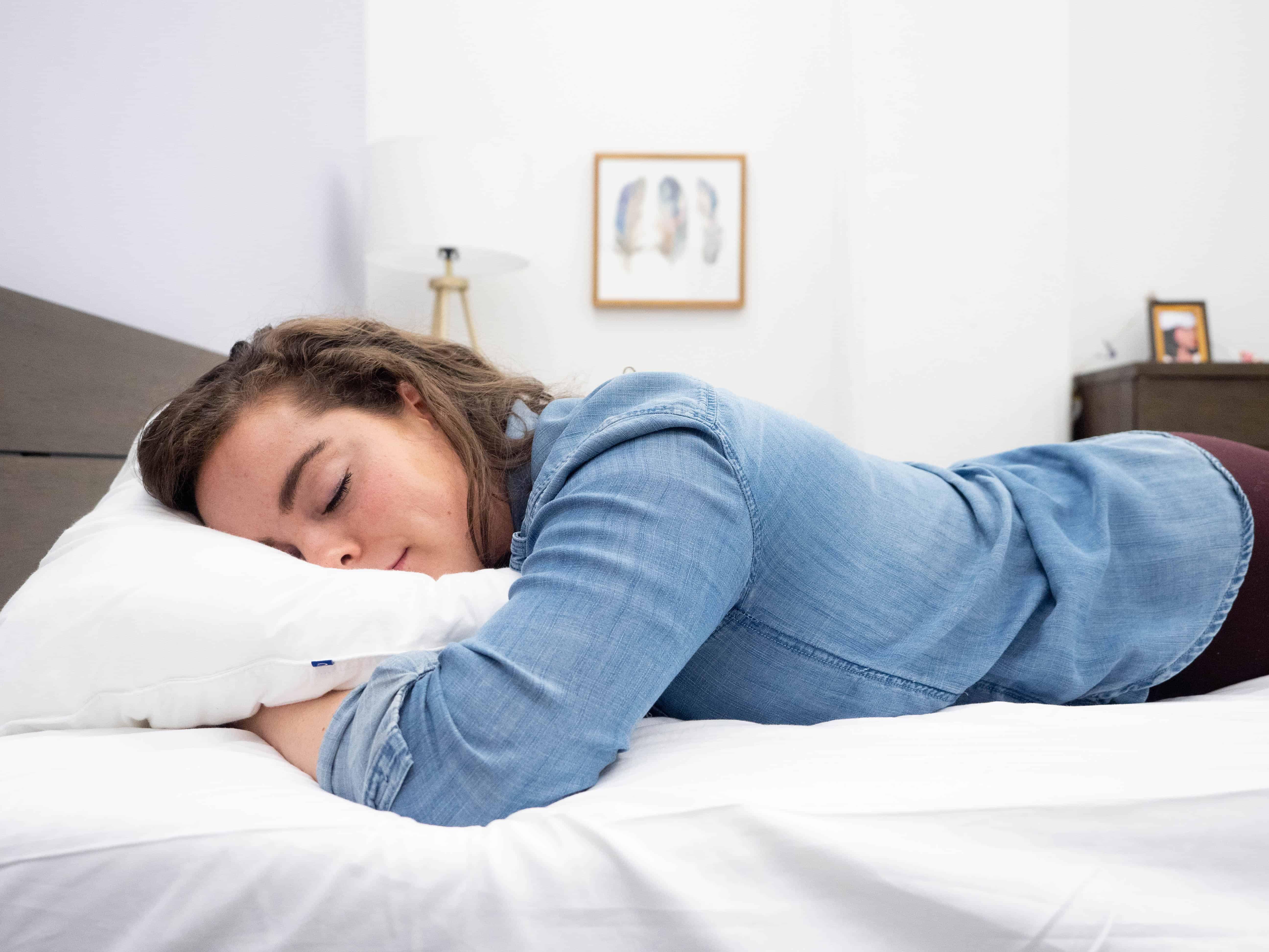 Casper Foam Pillow Stomach Sleeping
