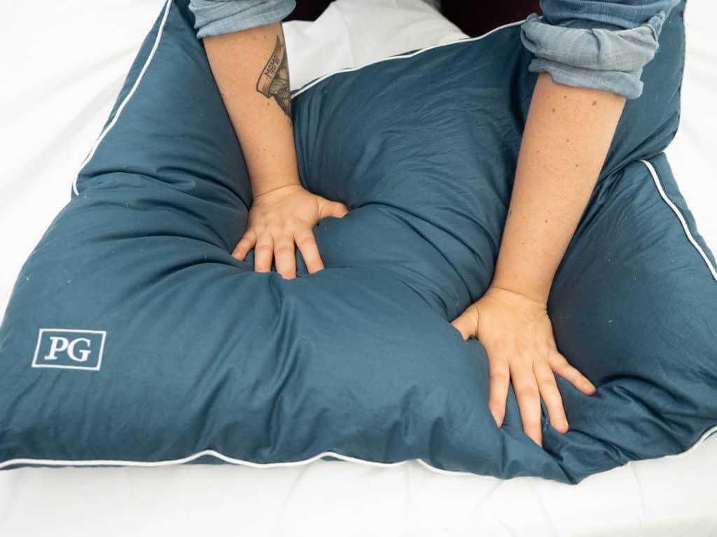 Stomach Sleeper Pillow Pillow Guy Press
