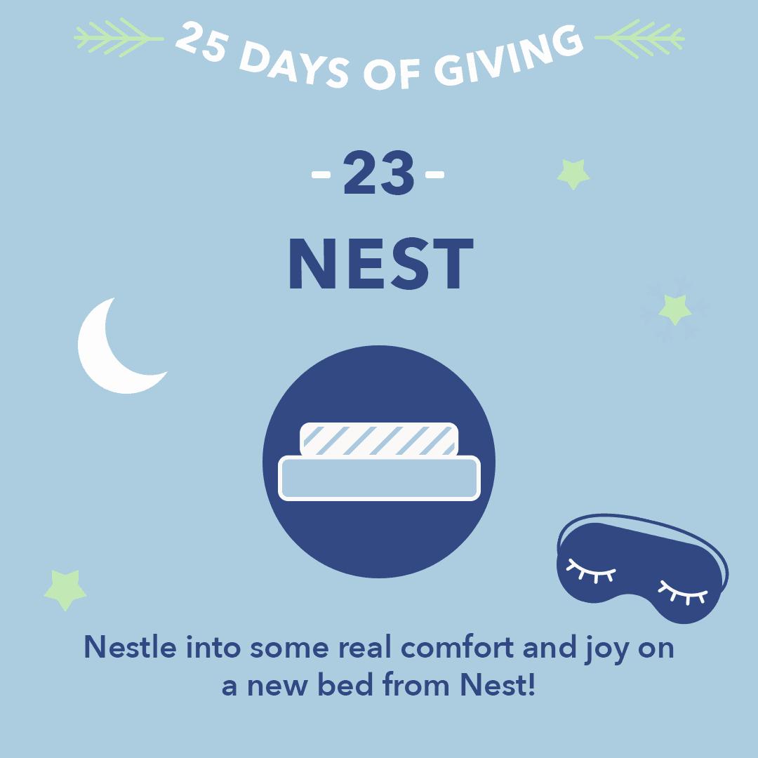 25 Days of Giving Nest Hybrid Latex