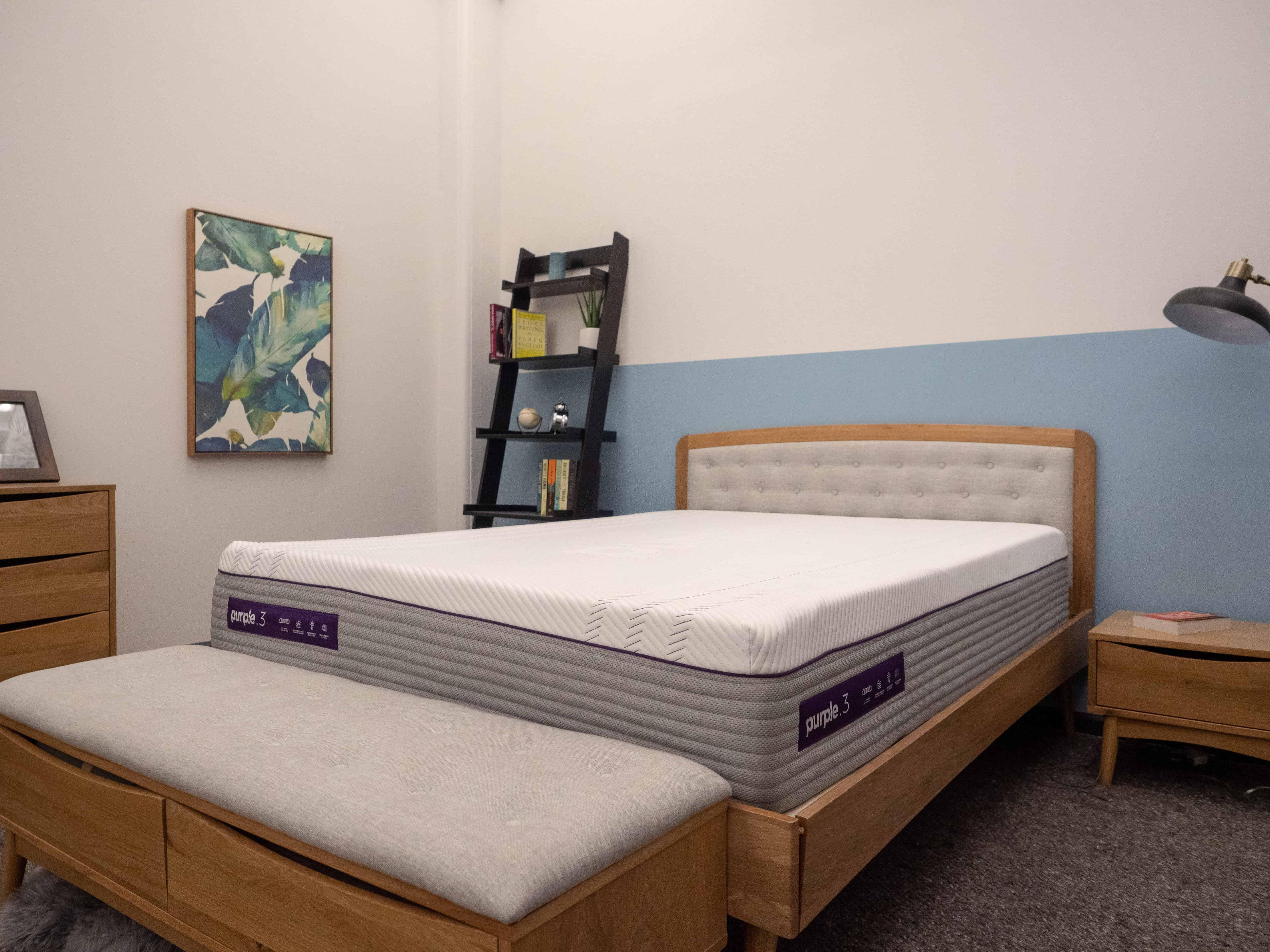 Purple-3-Corner Best Mattress for Heavy People