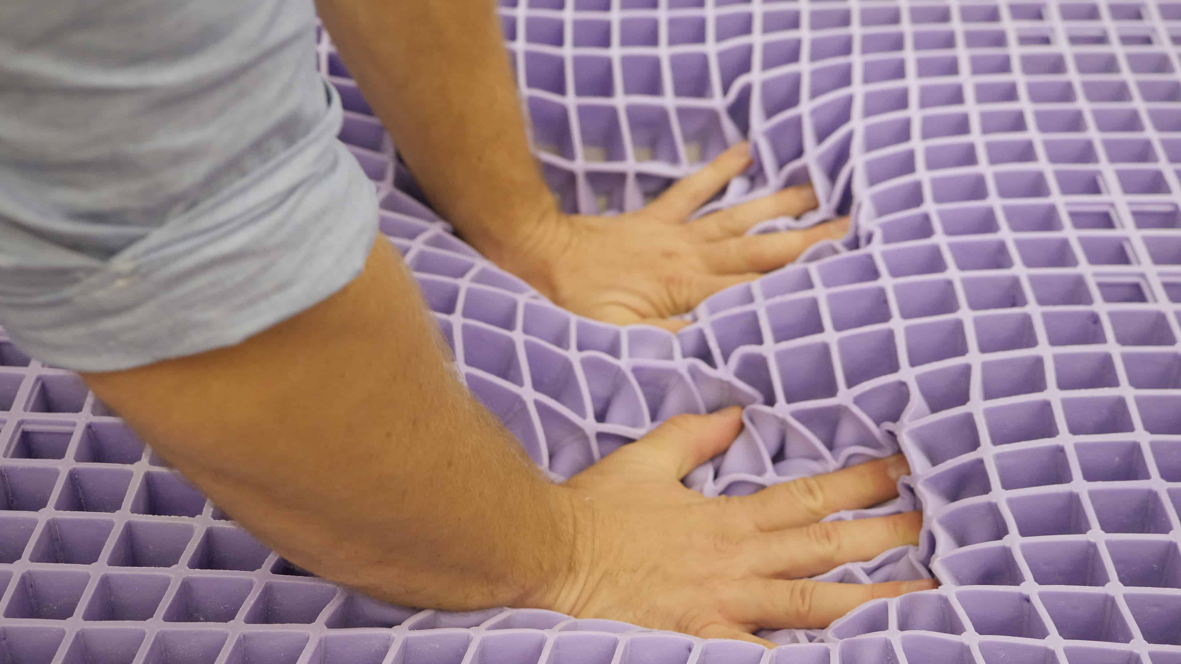 Purple Grid Press