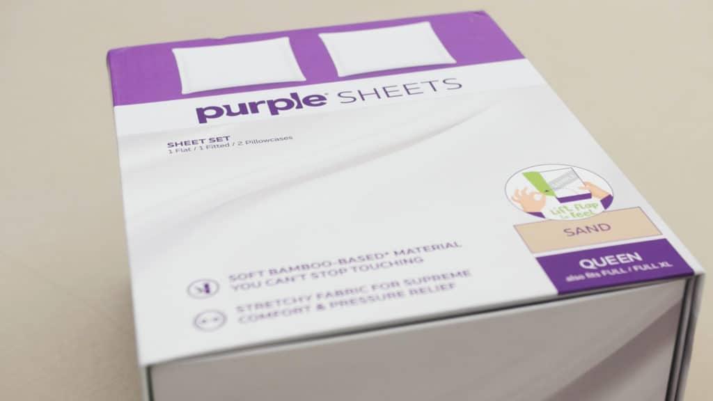 Purple Sheet Box