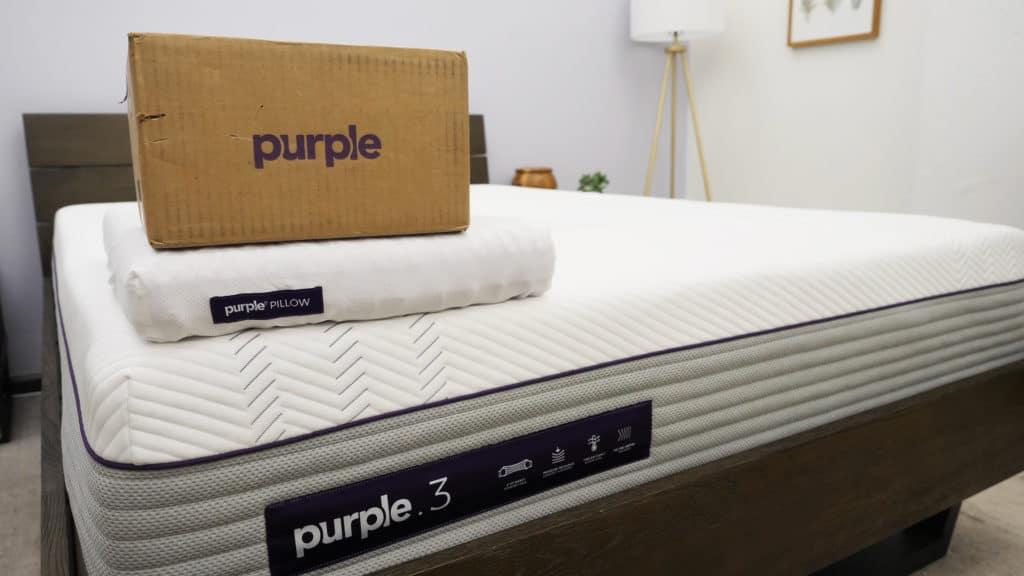 Purple Sheet Unboxed