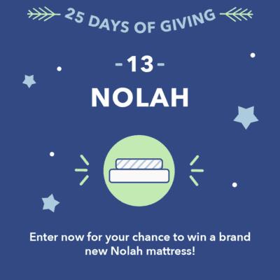 25 Days of Giving Nolah