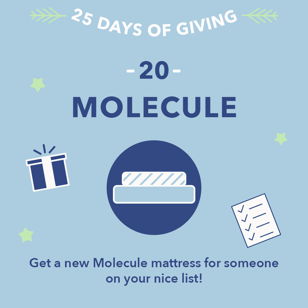 25 Days of Giving Molecule