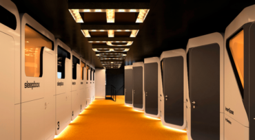 "This Airport's ""Sleepboxes"" Offer Travelers a Power Nap On The Go"