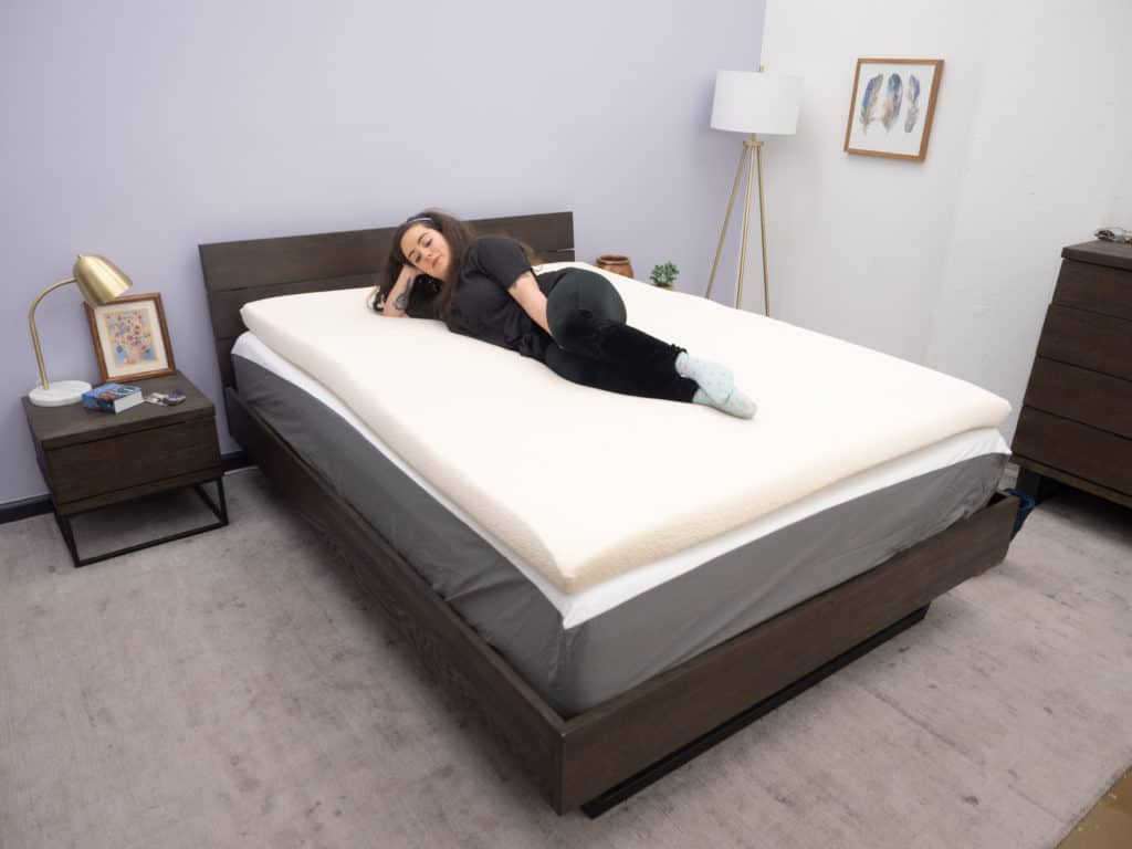 Latex-for-Less-Topper-Sarah-1-1024x768 Latex for Less Mattress Topper Review
