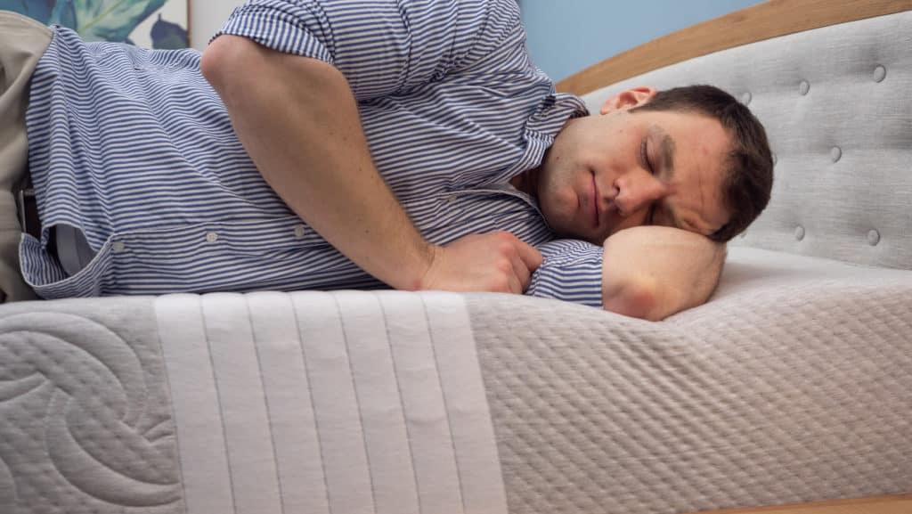 Sleeping on the Level Sleep mattress