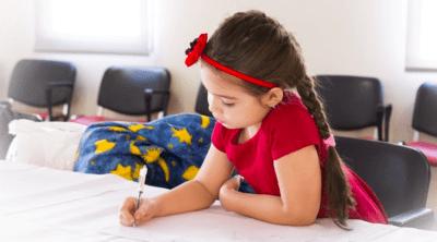 child learning sleep