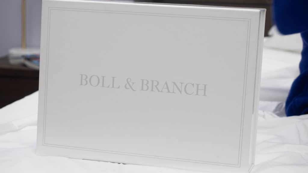 Boll and Branch box