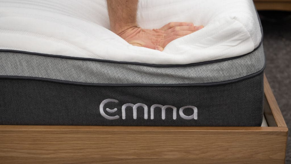 Emma mattress hand press