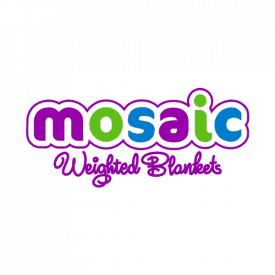 Mosaic Weighted Blanket