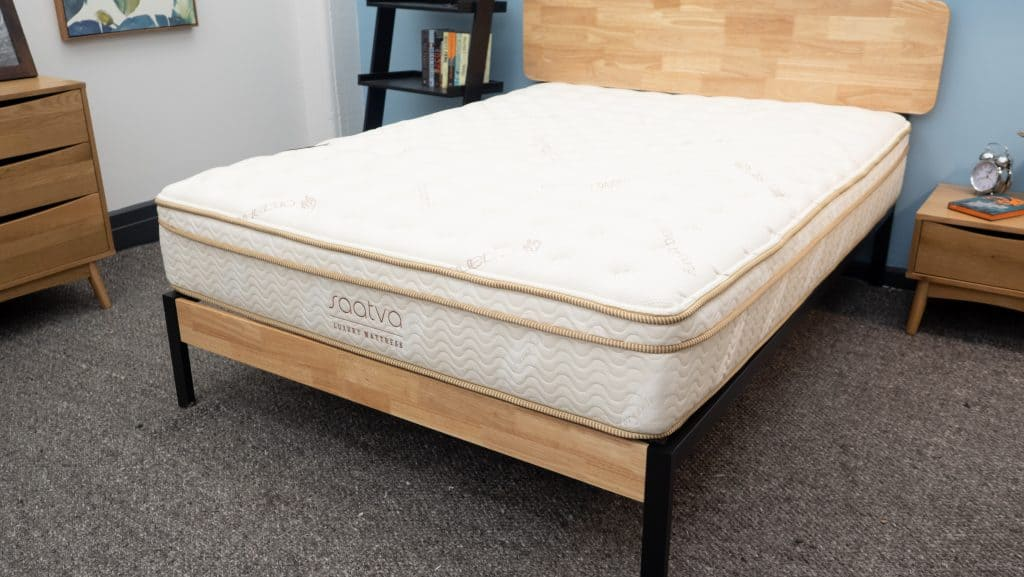 saatva mattress review great value for a luxury innerspring bed. Black Bedroom Furniture Sets. Home Design Ideas