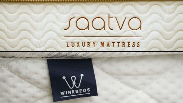 WinkBeds vs. Saatva mattress
