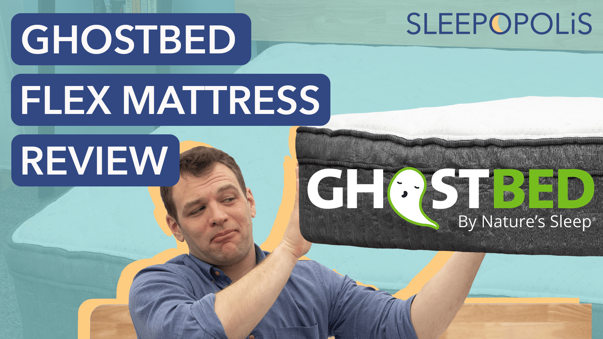 Ghostbed Flex Review Pressure Relief And Bounce From