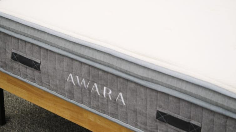 Awara Mattress Tag