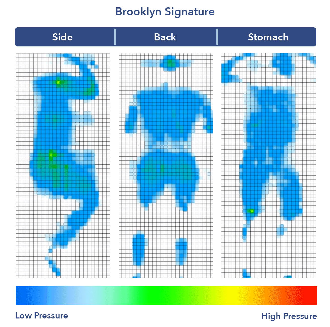 Brooklyn Signature Pressure Map