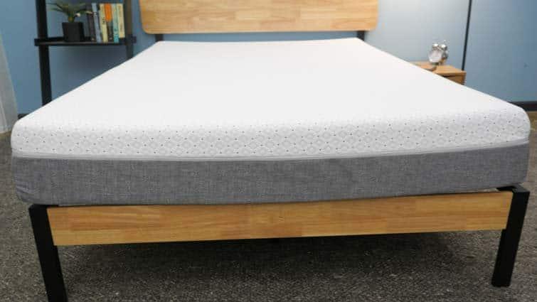 Endy mattress on frame