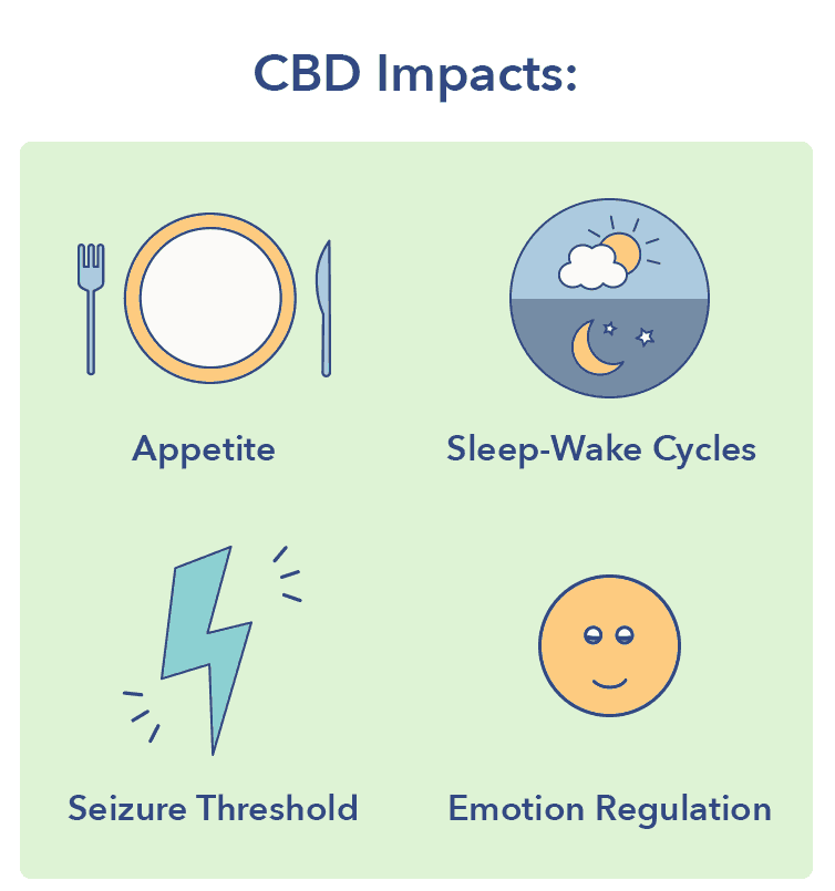CBD impacts graphic