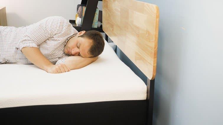 Side sleeping on Bear mattress