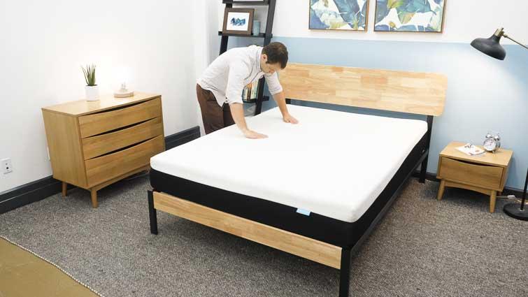 Testing the Bear mattress
