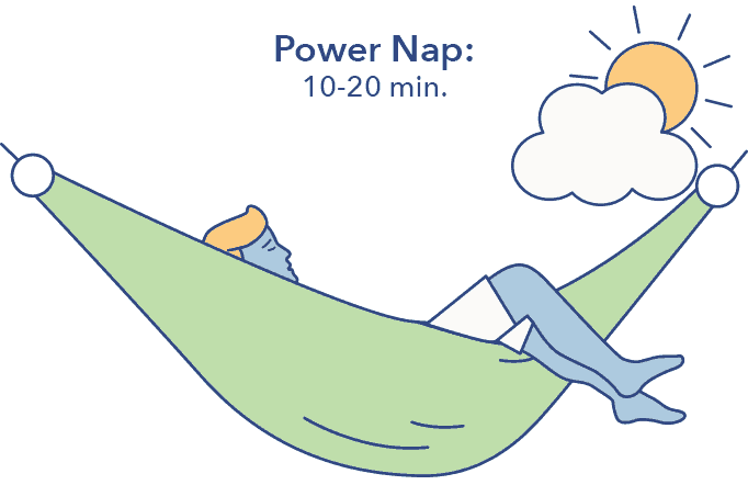 Power nap graphic