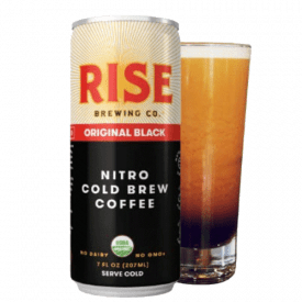 RISE Brewing Co. Nitro Cold Brew Coffee