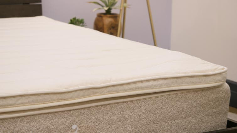 Birch Pillow Top on bed