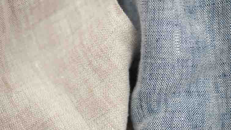 garment washed linen