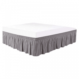 Biscaynebay Wrap-Around Bed Skirt