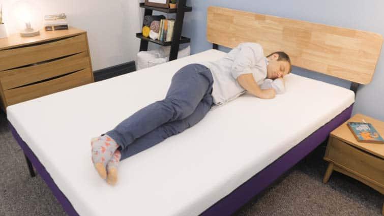 Side sleeping on the Polysleep mattress