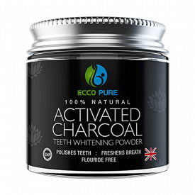 Ecco Pure Natural Activated Charcoal Teeth Whitening Powder