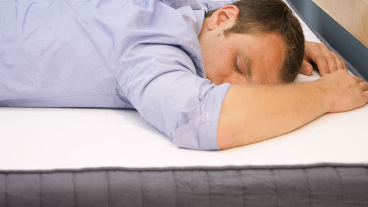 Stomach sleeping on the SweetNight mattress
