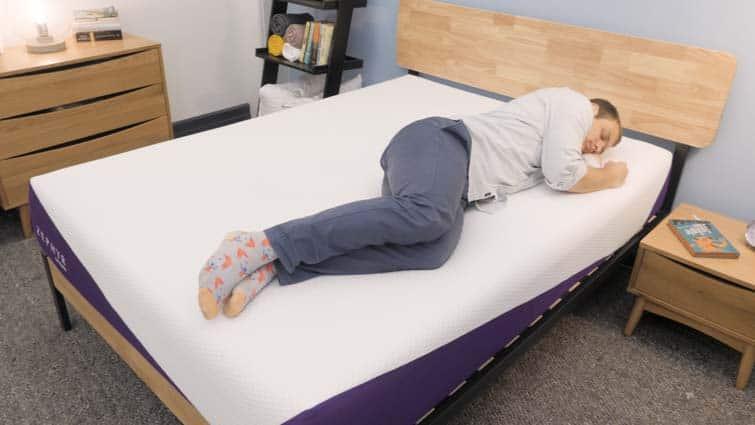 Side sleeping on the Zephyr mattress