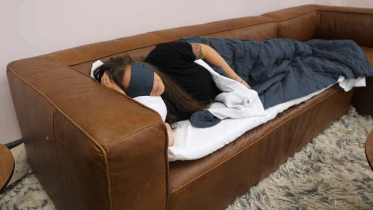 memory foam burrow sleep kit