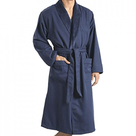 Monarch/Cypress Plush Lined Microfiber Spa Robe
