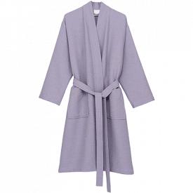 TowelSelections Kimono Waffle Bathrobe