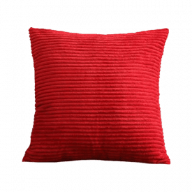 HOME BRILLIANT Corduroy Throw Pillow Cover