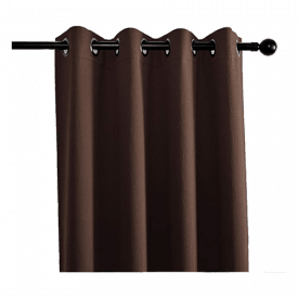 MIUCO Textured Blackout Curtains