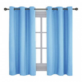 NICETOWN Grommet Top Blackout Curtains